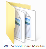 WES School Board Minutes