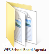 WES School Board Agenda